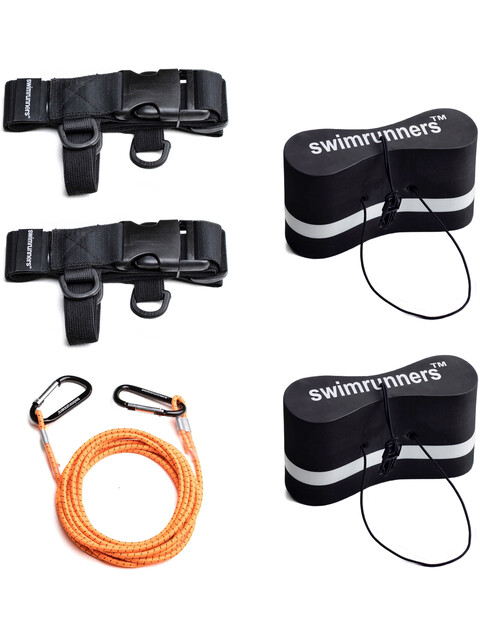 Swimmrunners Support Pull Belt Team Kit Black